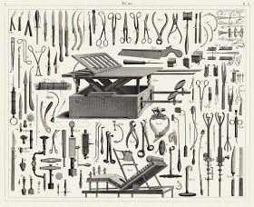 Sisters' Warehouse: Antichi Disegni Tecnici - Antique Technical Illustrations