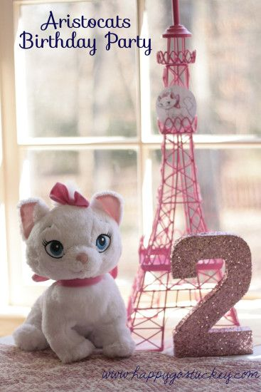 Aristocats Party - cute for a girl birthday