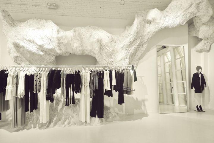 Sass Bide flagship store by Akin Creative New York City Sass & Bide flagship store by Akin Creative, New York City