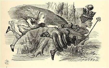 Alice in Wonderland - Alice und die Rote Königin