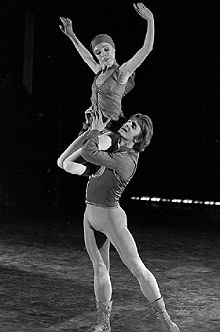 Gelsey Kirkland & Mikhail Baryshnikov in 'Other Dances' (choreography by Jerome Robbins), 1978