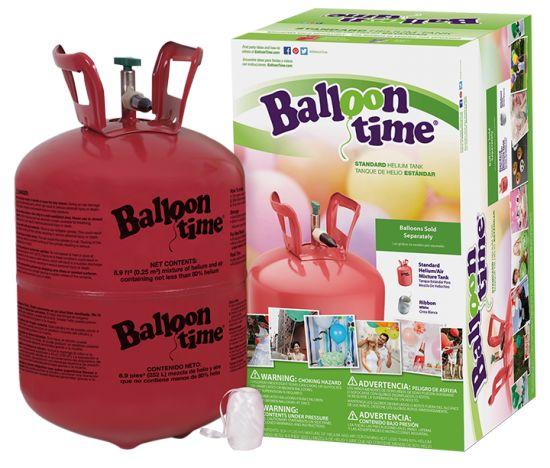Butla z helem do samodzielnego napełniania balonów helem. Butla jest bardzo prosta w obsłudze, a dzięki kilku naszym wskazówkom każdy stworzy własny bukiet balonów.