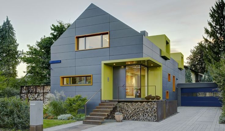 House in Bad Homburg. EQUITONE facade panels. www.equitone.com