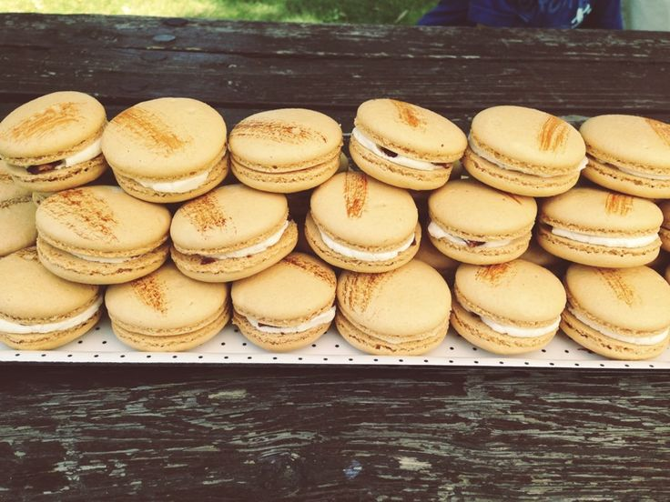 Maple Bacon Macarons Filled With A Real Maple Syrup