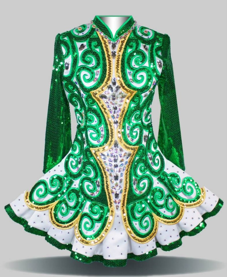 Irish dance dancing dress solo dress by elevations for Elevation dress designs