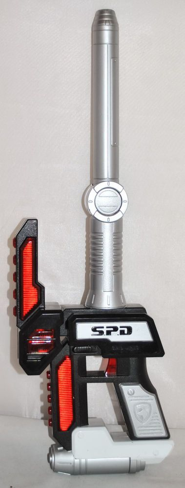 Bandai Power Rangers SPD Deltamax Striker with Lights and Sounds from 2005