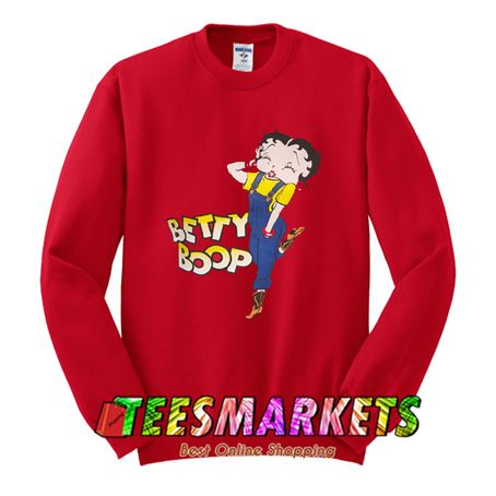 Betty Boop Sweatshirt