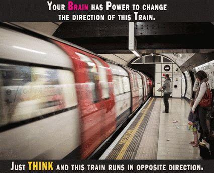 Αποτέλεσμα εικόνας για optical illusion of moving train