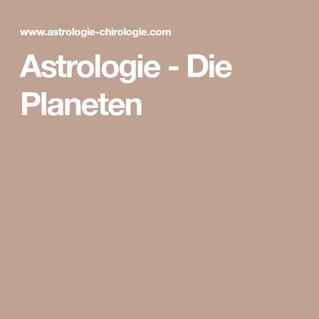 Astrologie - Die Planeten