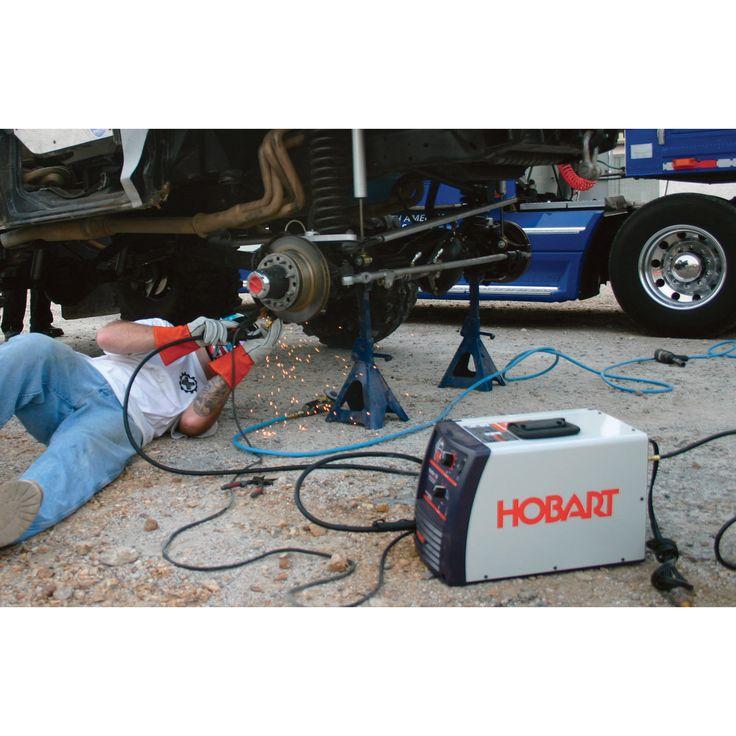 how to set up a flux core welder
