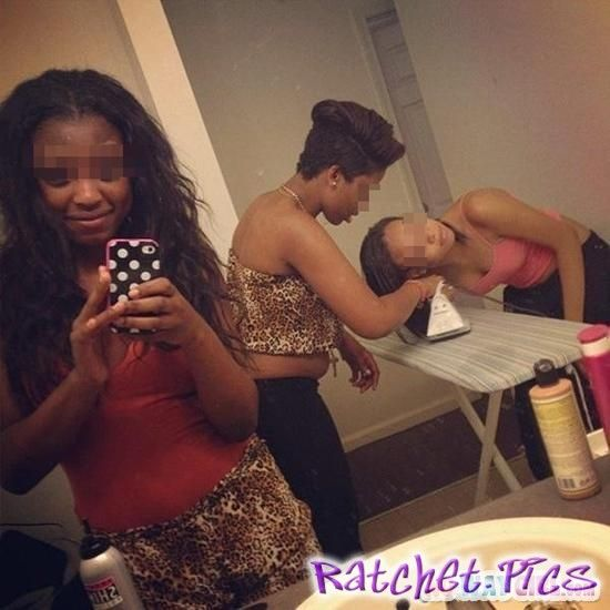 Gettin' hair did selfie - Ratchet | Ghetto Girls ...