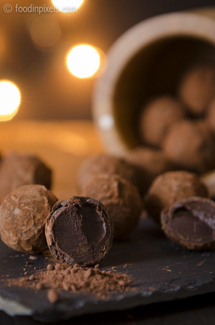 Belgian Chocolate Truffle Cake Recipe