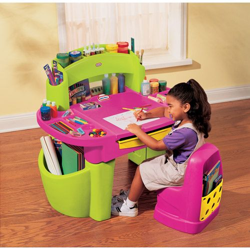 Little Tikes Pink Design Master Studio Desk  Makenzies -6746