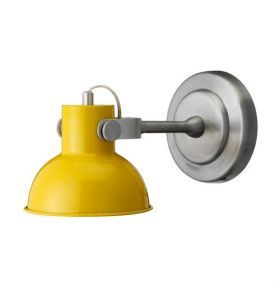 Wandlamp geel yellow
