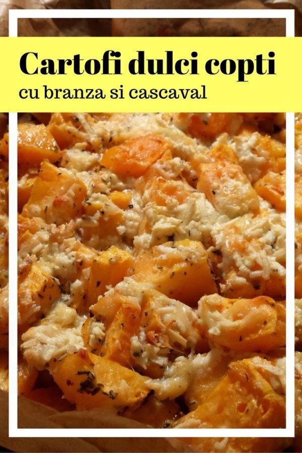 Cartofi dulci cu branza si cascaval – reteta simpla, rapida si usoara - Ioana Liviana - Mixul meu de inspiratie