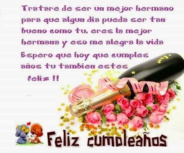 Deseos De Cumpleaños Para Mi Hermana Mayor Que Quiero Mucho
