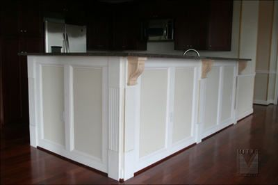 wainscoting on kitchen island 17 best images about trim wainscotting beadboard on 6927