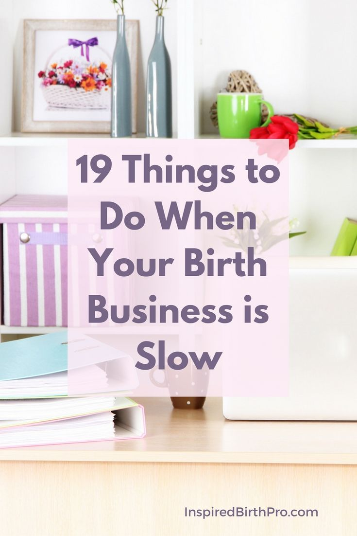 Just about every business goes through periodic slow periods. Aside from continuing to market your business and network in your community, there is a lot you can do to work on your business if it takes a temporary dip. via @inspiredbp
