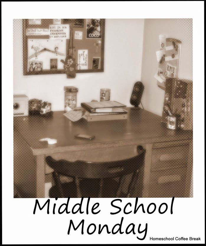 Homeschool Coffee Break - MIddle School Monday Highlights...articles linked include curriculum ideas for science and geography, and a winter chapter books reading list - even a Doctor Who themed study!   #homeschool #middleschool