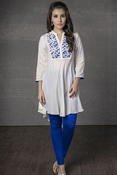 Love the Lace Kurti from BenzerWorld!
