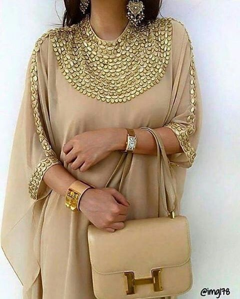 Arabic Inspiring Fashion | Dubai Style Caftan | Chic & Class