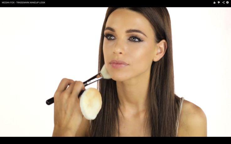 MEGAN FOX - MAKEUP LOOK by Celebrity Makeup Artist Monika Blunder