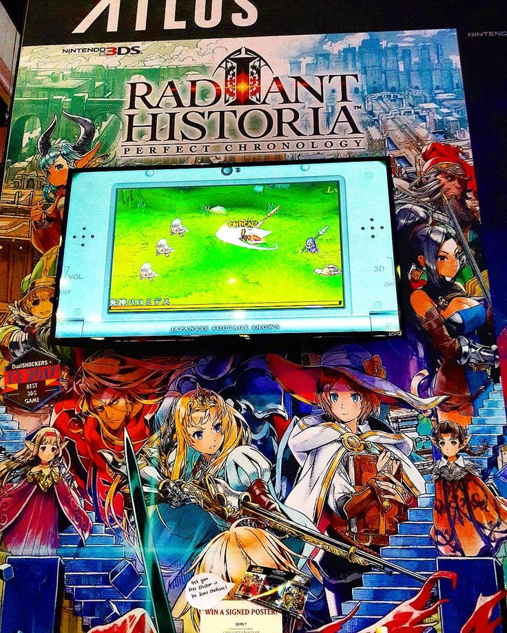 5 Days Left!!!!! Radiant Historia: Perfect Chronology  Release Date: 2/13/2018 Photo by: @select_and_start NEW 3DS  #nintendo3ds #retrocollective #nintendocollection #nintendoregram #gamer #retrogamer #retrocollector #Nintendolife #nintendogaming #videogames #collector #nin10do #pokemon #nintendoswitch #ninstagram #zeldagram #Nintendo #playstation #xbox #zelda #thelegendofzelda #legendofzelda #Atlus #RadiantHistoria #RadiantHistoriaPerfectChronology