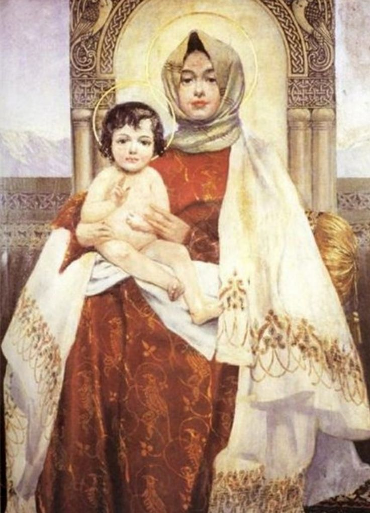 Madonna and Child. Armenia