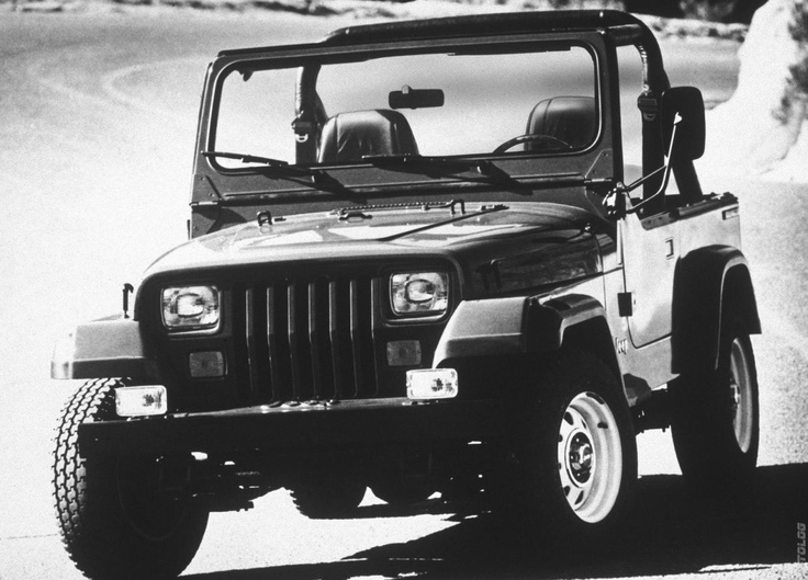 1987 Jeep Wrangler my. Piece of crap with the carburated 4.2 motor automatic. Good looking but not fun to drive. Had one when I was 17 years old.