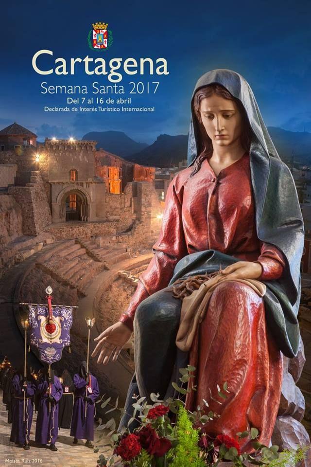 La Semana Santa 2017 ya tiene cartel anunciador. El jurado ha elegido este trabajo del fotógrafo Moisés Ruiz