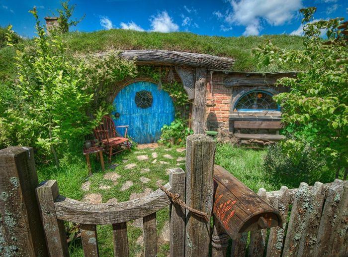 23 besten hobbit h hle haus bilder auf pinterest hobbit h user gartenhaus selber bauen und. Black Bedroom Furniture Sets. Home Design Ideas