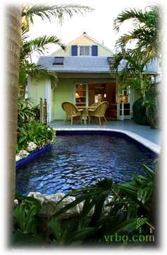 """Coconut Cabana"" Old Town Tropical Bungalow Private Homes, Old Town, Key West, Florida Vacation Rental by Owner Listing 72848"