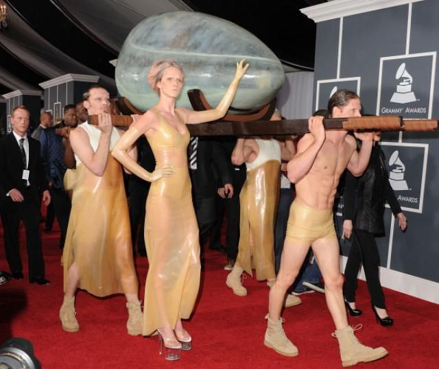 Grammy Red Carpets: The Most Outrageous Outfits of the Decade