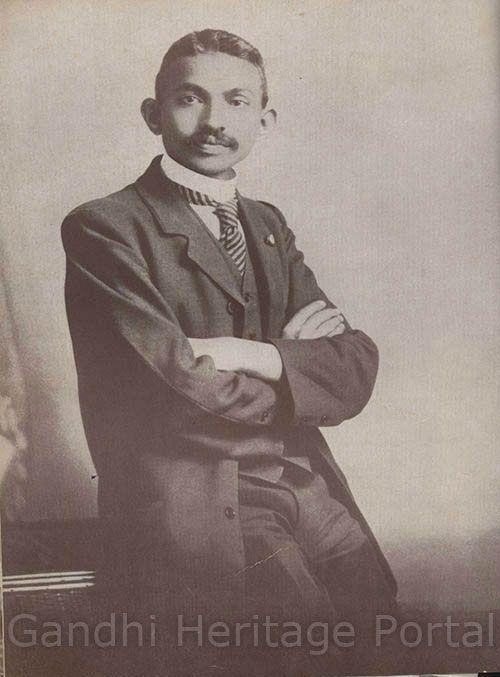 Mahatma Gandhi as a barrister.