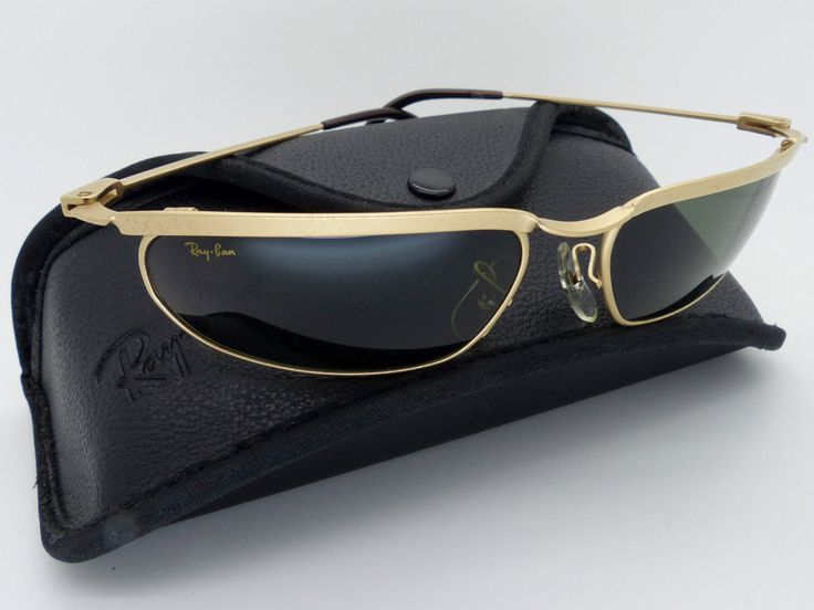 Vintage B&L Ray Ban W2572 Olympian Matte Gold G15 Sunglasses NOS Very Rare! by VSOx on Etsy