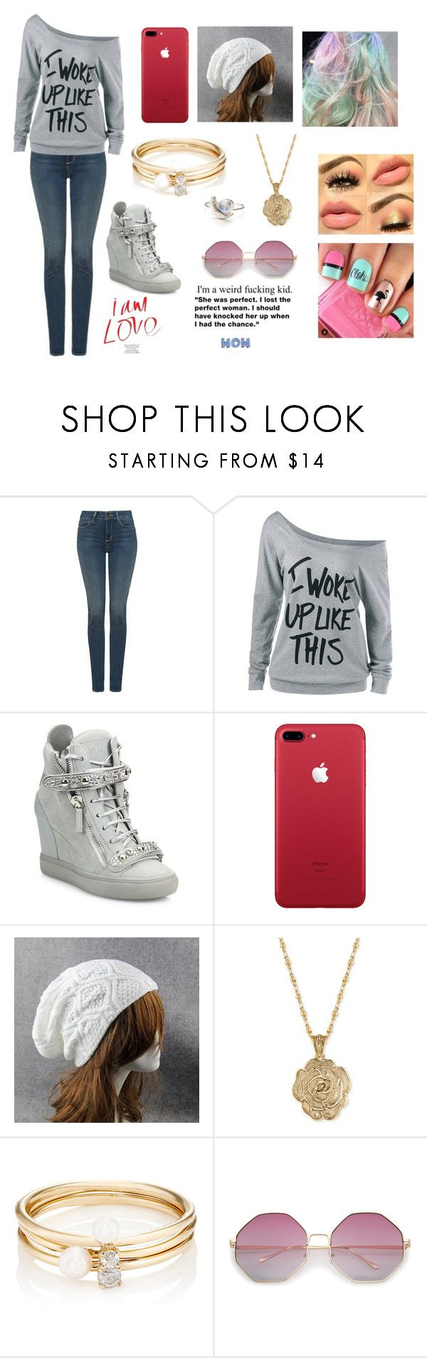 """Jaiden Smith #4"" by maya-fischbach on Polyvore featuring NYDJ, Giuseppe Zanotti, 2028 and Loren Stewart"