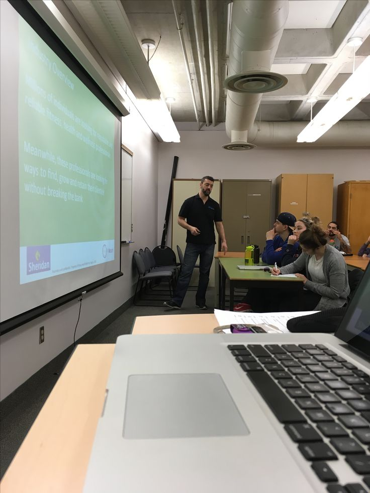 Thanks Julie for having us at Sheridan College yesterday to discuss marketing and business management for students studying athletic therapy.