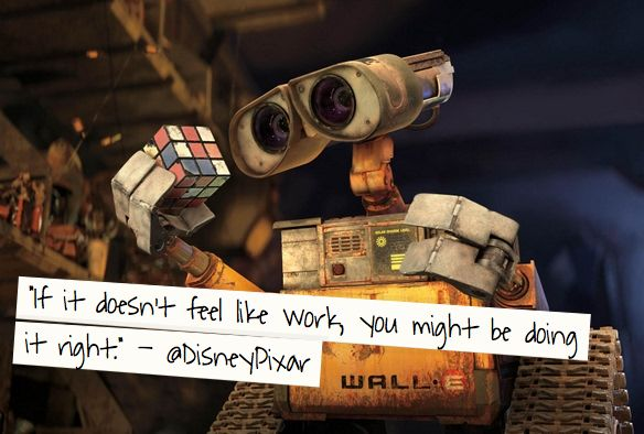 Infuse Your Heart: 60 Brilliant Quotes<-- I pinned it for the wall-e quote •w•