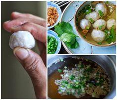 Indonesian Medan Food: Membuat Bakso Ikan Kenyal ( Home Made Springy Fish Ball )