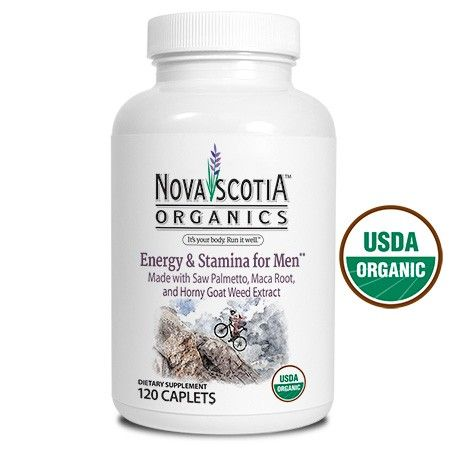 Men, we don't want you to miss any of life's best experiences. Our USDA Certified Organic formula of Maca root, Zinc, Saw Palmetto and Horny Goat Weed might be just what you need. Offered here in easy to swallow caplets. http://novascotiaorganics.com/store/supplements-solutions/energy-stamina-for-men-formula