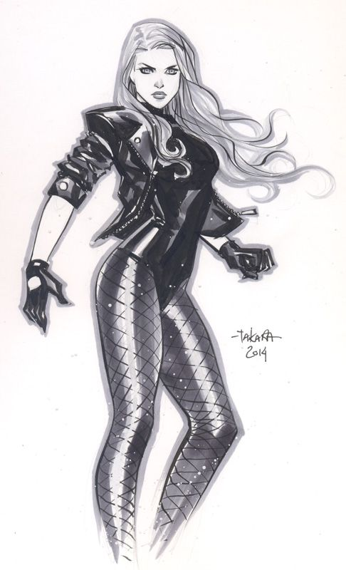 """ New York Comic Con 2014 sketch - Black Canary * — for commission list, sketchbook pre-order or NYCC sketch list: mtakaraart@yahoo.com """