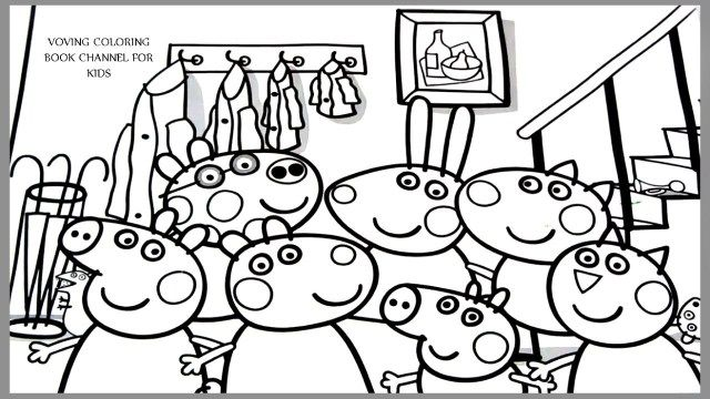 21 Brilliant Picture Of Pig Coloring Pages Entitlementtrap Com Peppa Pig Coloring Pages Coloring Books Birthday Coloring Pages