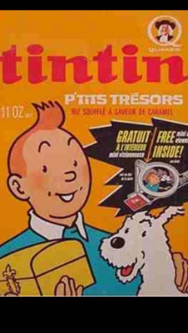 Tintin cereal