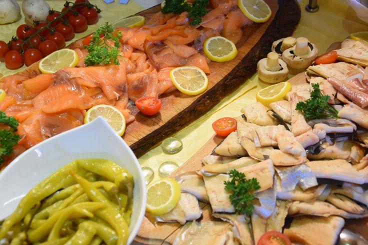 Frischer Fisch am Vorspeisenbuffet vom Hotel Almrausch**** in Bad Kleinkirchheim, Kärnten   www.almrausch.co.at
