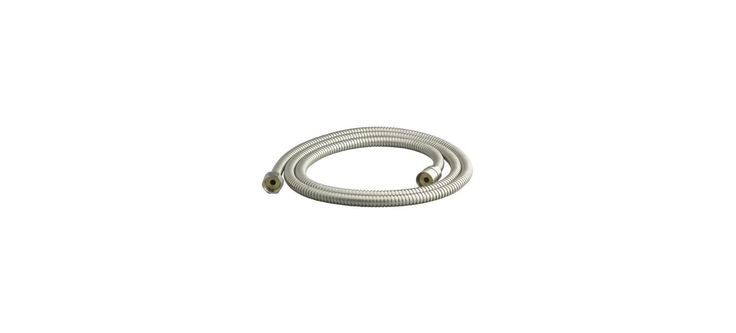 "Kohler K-8593 Functional MasterShower 72"" Metal Hand Shower Hose with Swivel Bas Brushed Nickel Shower Accessories Hand Shower Hoses"