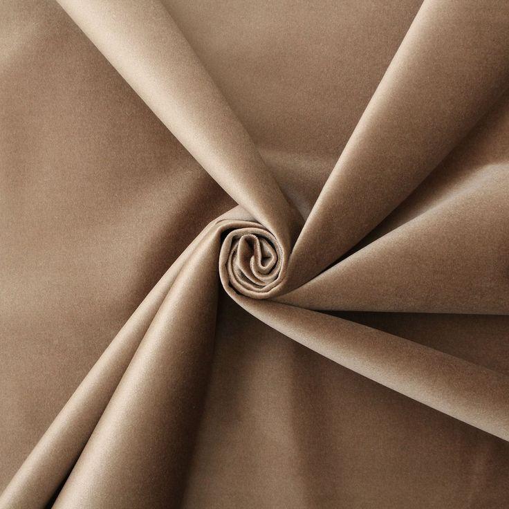 LUXURY SMOOTH THICK SHINY DESIGNER VELVET MATERIAL CUSHION UPHOLSTERY FABRIC | eBay