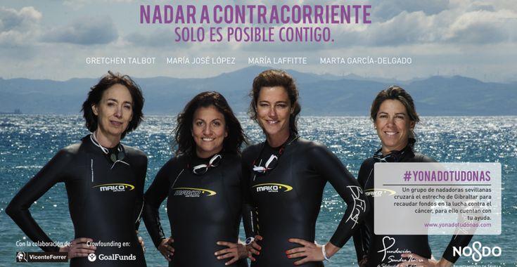 Camino de Santiago y brazadas solidarias contra el cáncer - http://www.absolutsevilla.com/camino-santiago-brazadas-solidarias-cancer/