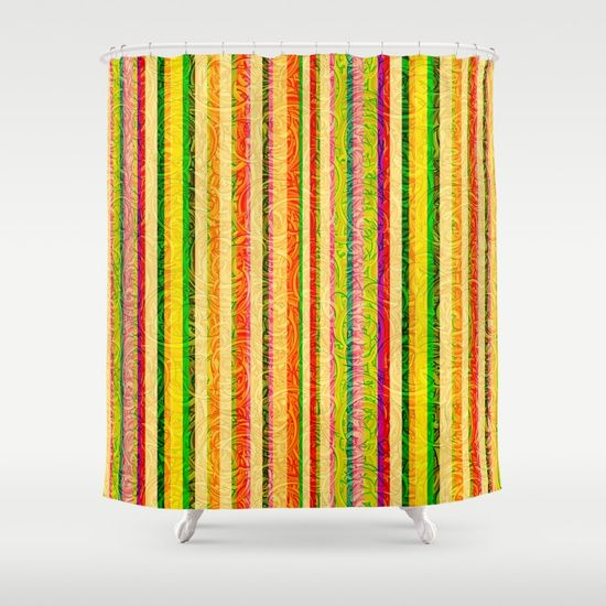 Colorful Shower Curtains