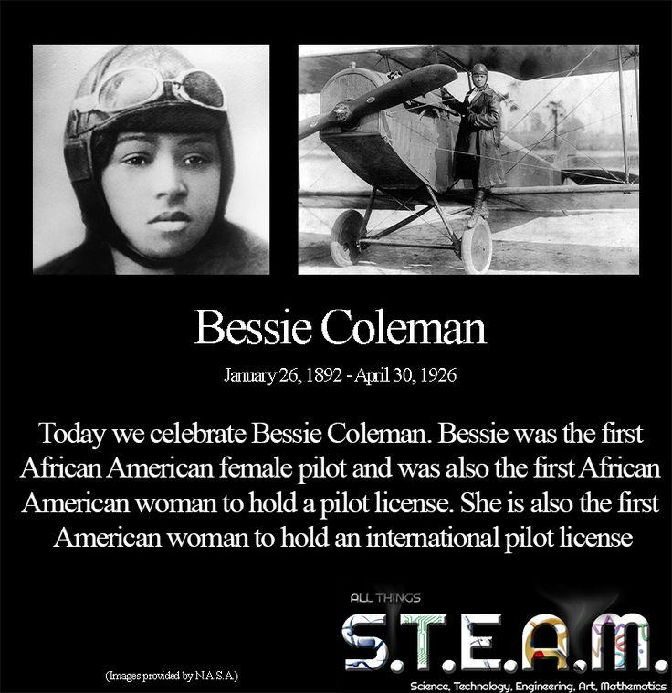 what year was bessie coleman born