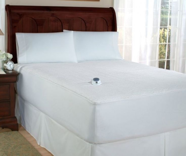 Soft Heat Microplush Top Electric Warming Mattress Pad
